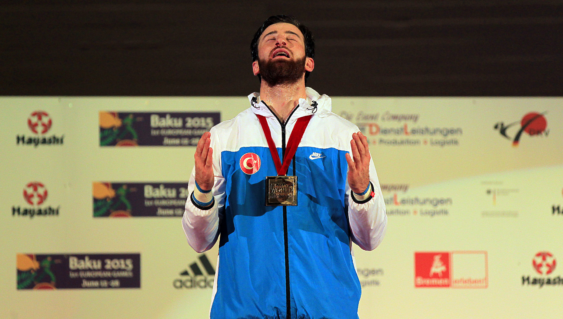 ENES ERKAN TWO-TIMES WORLD CHAMPION