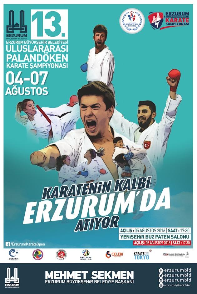 13. Uluslararası Palandöken Karate Şampiyonası...