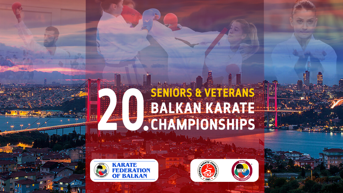 ANNOUNCEMENT OF THE 20th BALKAN SENIOR KARATE CHAMPIONSHIPS